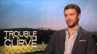 Justin Timberlake and Amy Adams Interview for TROUBLE WITH THE CURVE