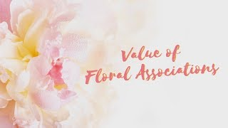 Value of Floral Associations