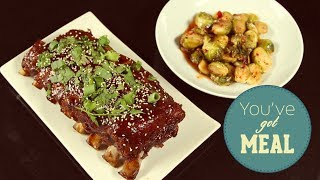 How To Make Babyback Ribs And Brussels Sprouts