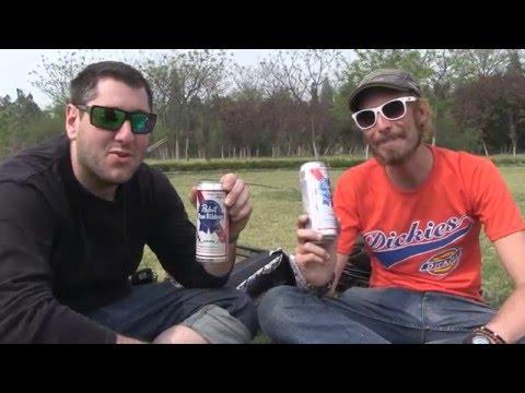 Kaifeng! On prend une bière (Pabst blue ribbon) pour un ami!
