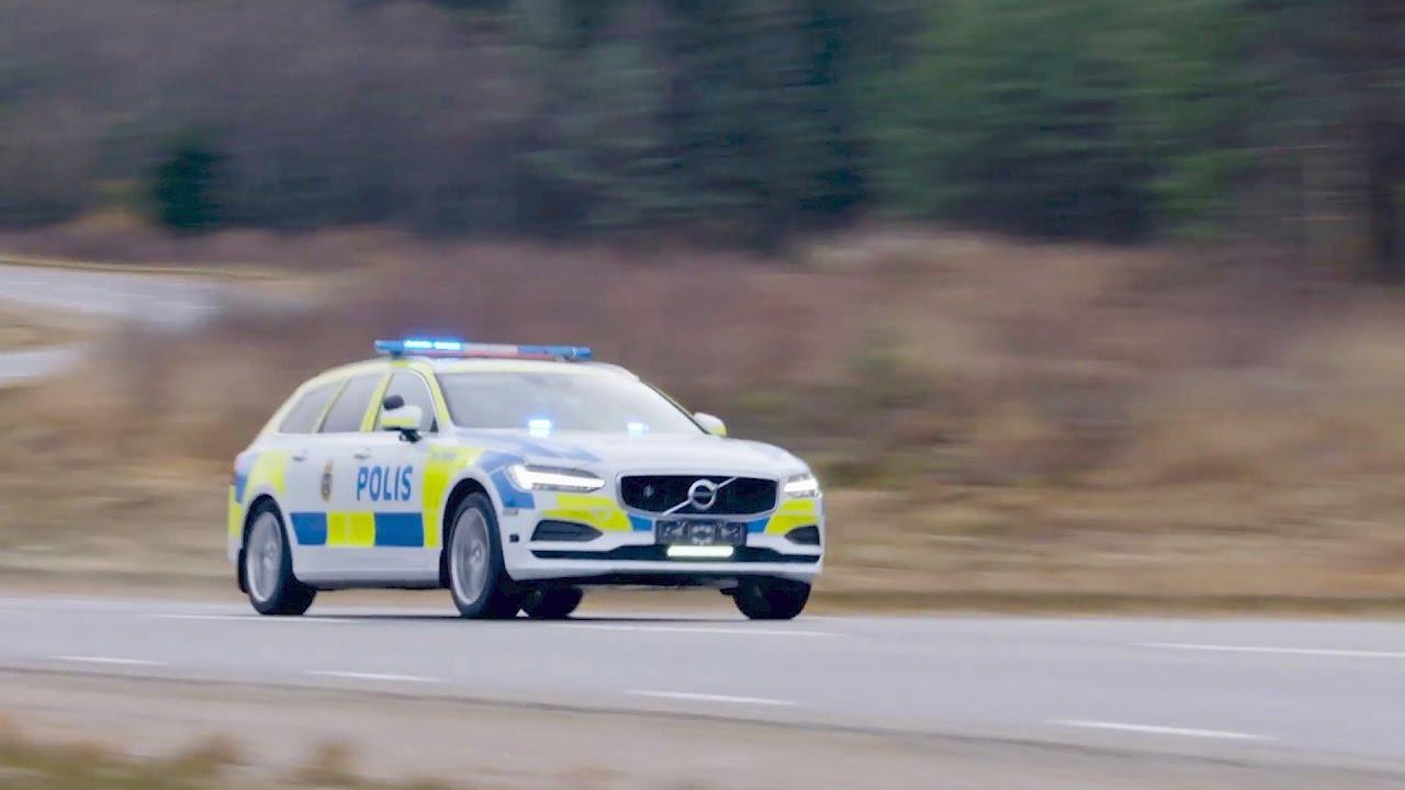 2017 volvo v90 police car test drive youtube. Black Bedroom Furniture Sets. Home Design Ideas