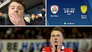 Barnsley 0 Burton Albion 0 | Frustrating Day At The Office! | Matchday Vlog#40