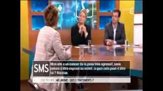Cancer de la peau et mélanome Pr Lebbe Hôpital Saint-Louis