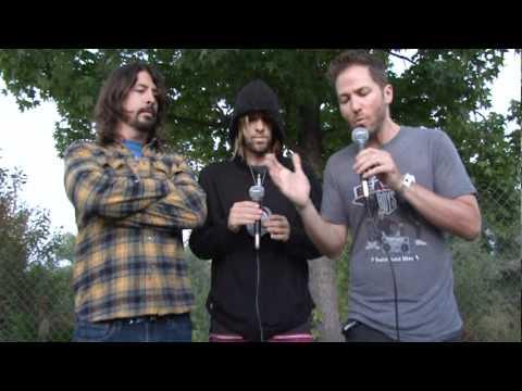 Foo Fighters Interview - Weenie Roast 2011