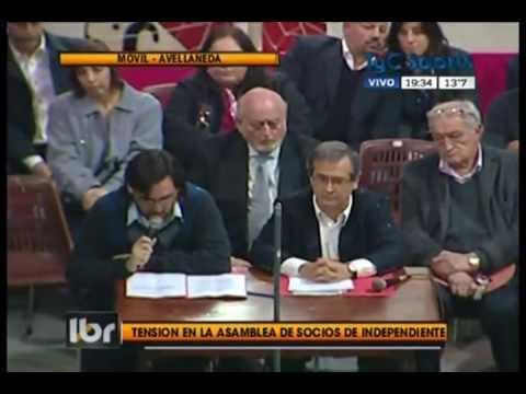 La Agresión A Javier Cantero En La Asamblea De Representantes De Independiente