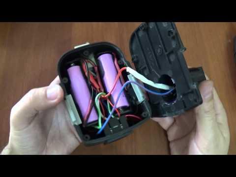 Замена аккумулятора шуруповерта С NICd на Li-ion. Часть 2. Не последняя.