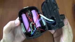 замена аккумулятора шуруповерта с nicd на li ion часть 2 не последняя