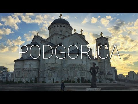 Vlog #58: Podgorica, Montenegro || ONE AFTERNOON IN PODGORICA