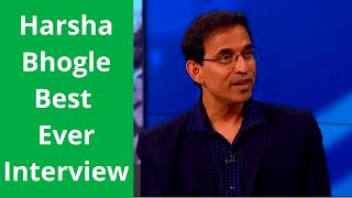Harsha Bhogle Best Interview in Australia - Hilarious and Witty