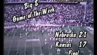1969 Nebraska vs Kansas Highlights
