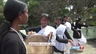 Coimbatore college students promote Thappu/Parai music
