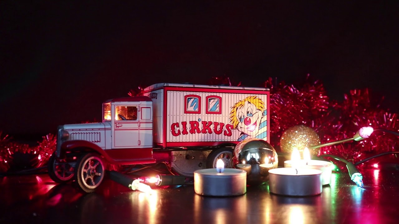 Christmas Images Free For Commercial Use.Travelling Shot Of A Circus Toy Truck Royalty Free Merry Christmas Scene Free For Commercial Use
