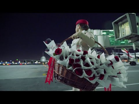 Spreading love on Valentine's Day | Emirates Airline
