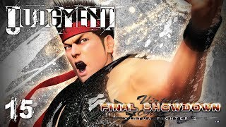 FINAL SHOWDOWN - Let's Play - Judgment (Judge Eyes) - 15 - Walkthrough and Playthrough
