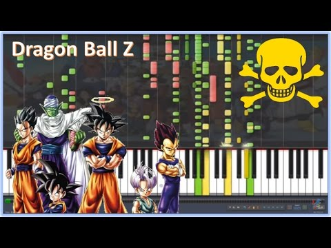 Dragon Ball Z / Cha-la Head Cha-la (Versión Imposible de Piano)
