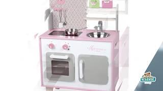 Dřevěná kuchyňka pro děti Macaron Maxi Cooker Jan