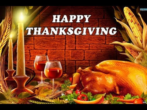 Happy and Safe Thanksgiving Day!
