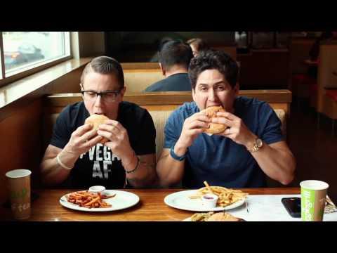 First Time Vegan Burger Smashing! - Farm Sanctuary - Compassionate Meals