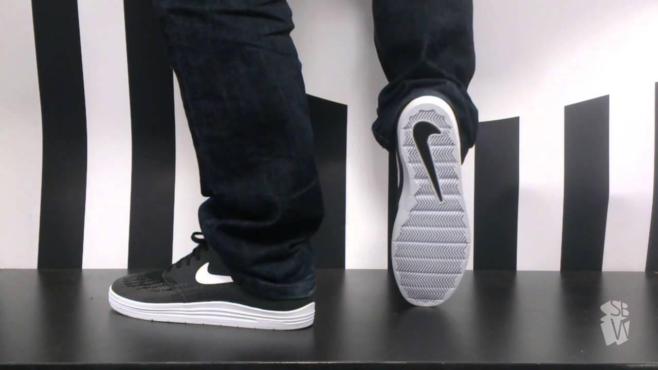 Nike sb LUNAR ONESHOT black white ho14 631044 008