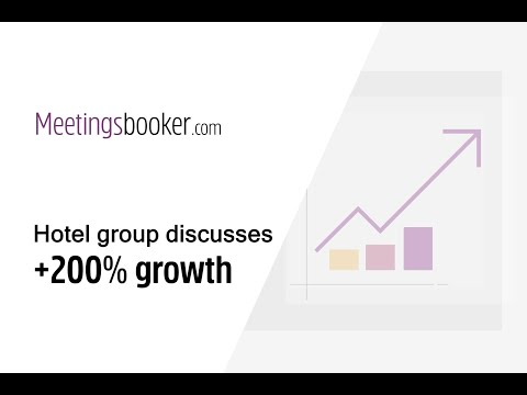 Hotel Group Discusses +200% Growth In Online Meeting Room Bookings