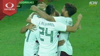 Gol de Rodríguez | México 3 - 2 Ecuador | Partido amistoso | Televisa Deportes