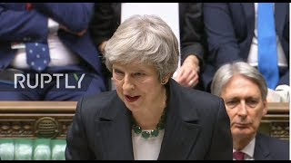 LIVE: May speaks at UK Parliament following cabinet approval of Brexit draft