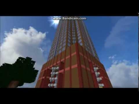 Minecraft: Messeturm Frankfurt