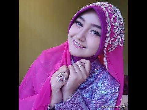 Adek Berjilbab Ungu Si Cantik Jihan Audy