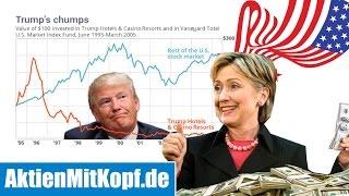 Clinton oder Trump? Was passiert mit der Börse NACH der US-Wahl?