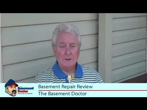 Customer Review Basement Doctor Bowed Foundation Wall Repair - Basement doctor