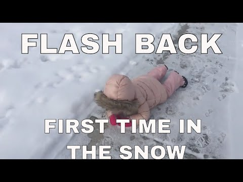 THE GIRLS WATCH THE VLOG OF THE FIRST TIME THEY EVER PLAYED IN THE SNOW