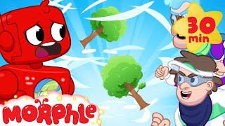 Morphle and the Storm Machine - Bad Bandits | Cartoons for Kids | My Magic Pet Morphle