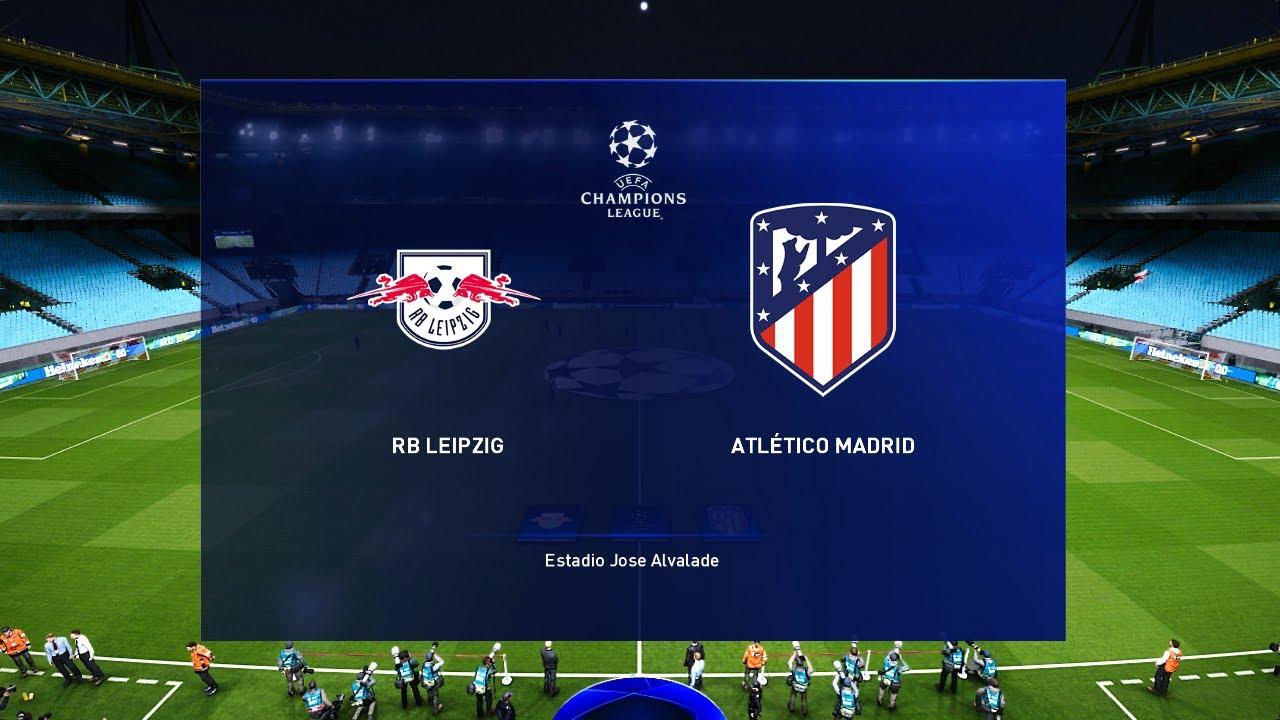 RB Leipzig vs Atletico Madrid - Champions League 13 Aug 2020 ...