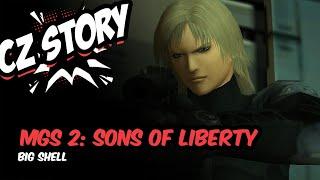 Metal Gear Solid 2: Sons of Liberty - CZ příběh (Big Shell)