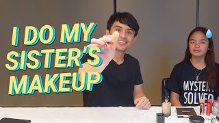 I DO MY SISTER'S MAKEUP ft. MARY PACQUIAO | Jimuel Pacquiao