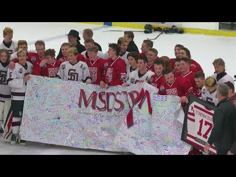 Marjory Stoneman Douglas H.S. Hockey Players Compete For Title In Minn.