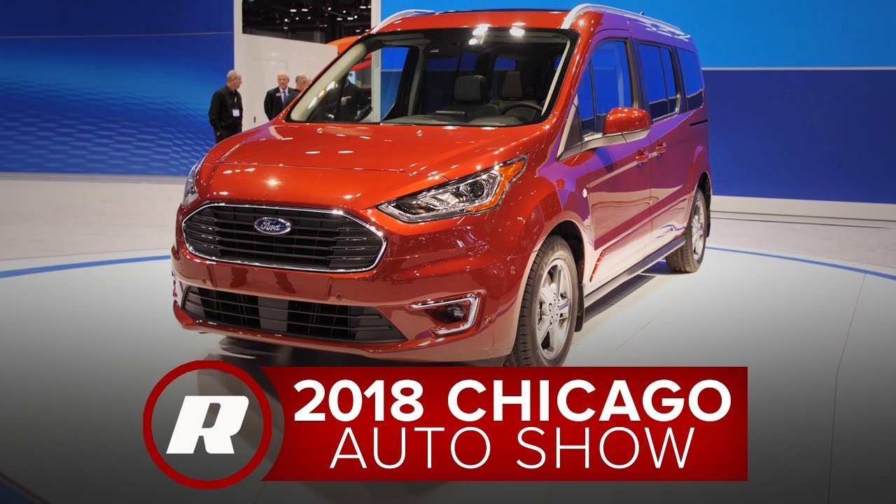 Ford Transit Wagon >> 2018 Chicago Auto Show: 2019 Ford Transit Connect Wagon is the un-minivan - YouTube