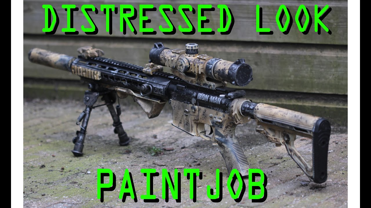 Distressed Look Paintjob Youtube