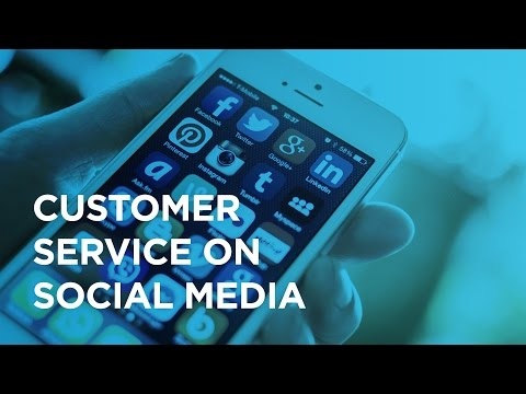 Customer service on social media and how people adapt to technology
