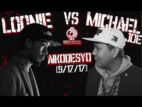 Thumbnail: 052 Rap Battles - LOONIE vs MICHAEL JOE