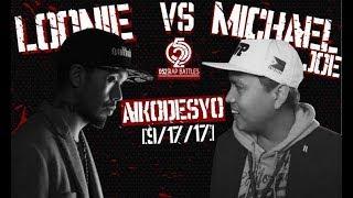 052 Rap Battles - LOONIE vs MICHAEL JOE