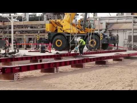 Energy Crane & Rigging - Blast Resistant Modules - Jack & Slide Project