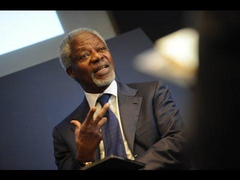 A Conversation with Kofi Annan