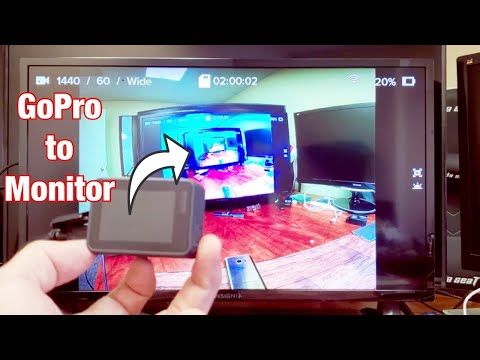 GoPro 5/6/7 : How To Connect To External Monitor (TV, Computer Monitor, Projector)