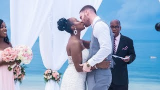 OUR WEDDING VIDEO (Part 2) *The Ceremony* | TodayWithTray