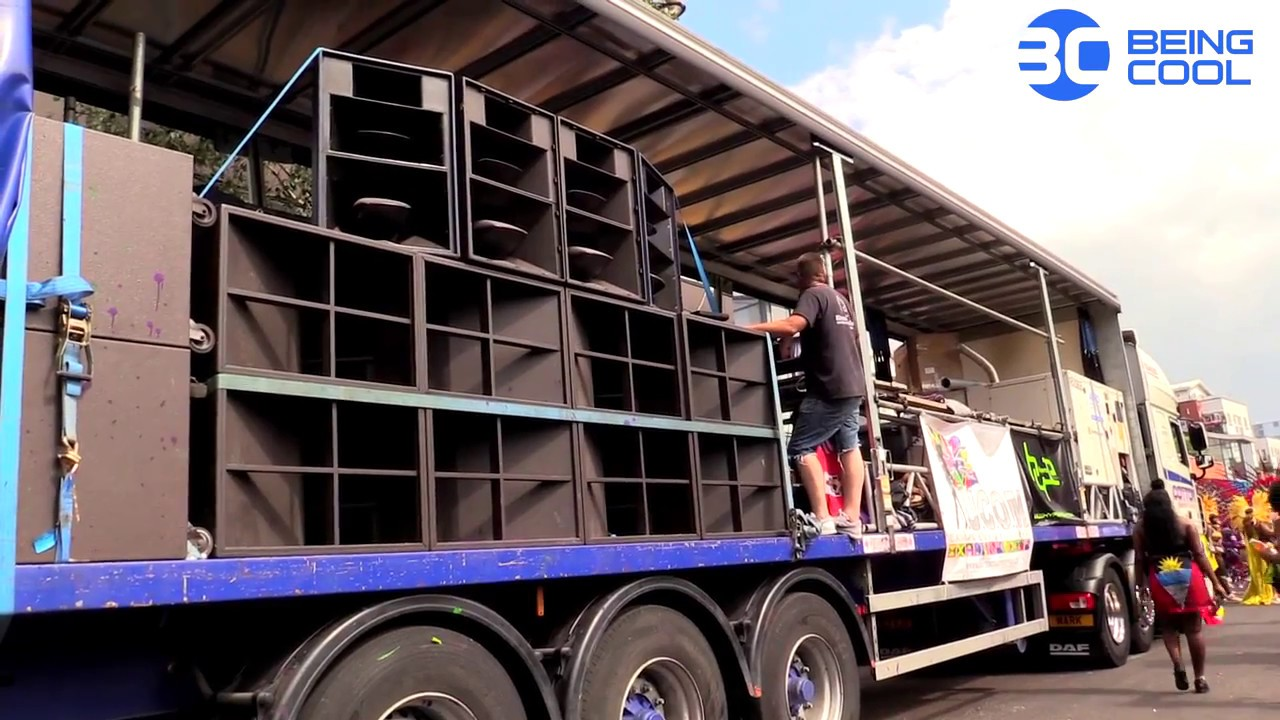 Truck Sound System >> Notting Hill Carnival Sound Systems Youtube