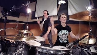 Download Video Meghan Trainor - Lips Are Movin - Drum Cover w/ 2 Drummers! Ft. Kortney Grinwis MP3 3GP MP4