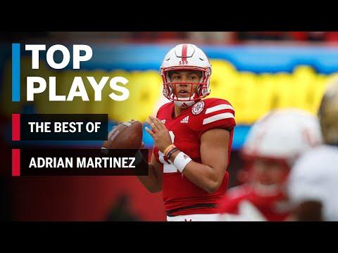 The Best of Adrian Martinez: 2018 Mid-Season Highlights | Nebraska | Big Ten Football