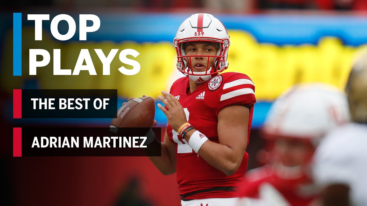 The Best of Adrian Martinez: 2018 Mid-Season Highlights | Nebraska | Big Ten Football