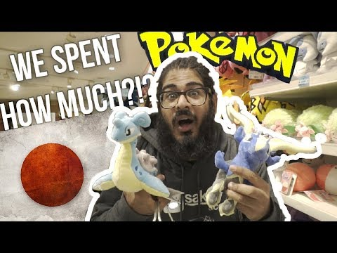 WE SPENT $350 at a POKEMON CENTER in JAPAN... - Pokemon Center Mega Tokyo